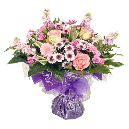 Букет для Конновой Екатерины с пожеланиями счастья и любви в честь бракосочетания!