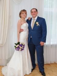 Поздравление с бракосочетанием для Анастасии и Дениса Слюсаренко!