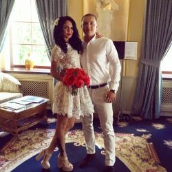 Поздравление с Днем свадьбы для Алексея и Натали!