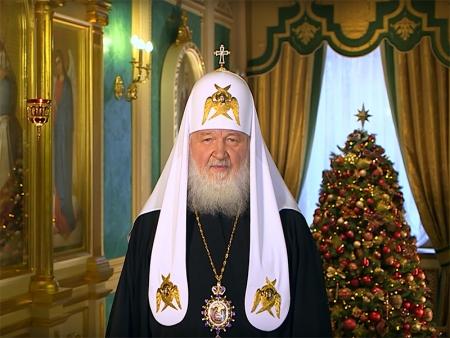 Рождественское обращение Святейшего Патриарха Кирилла к телезрителям!